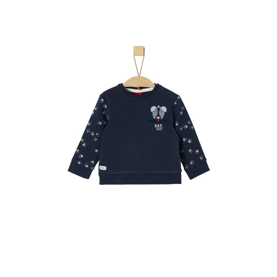 s.Oliver Girl s Sweatshirt donkerblauw