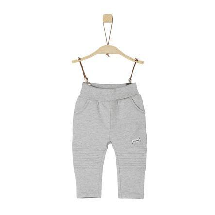 s.Oliver Boys Spodnie dresowe jasnoszary melange