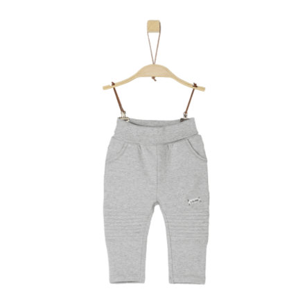 s.Oliver Boys Sweathose light grey melange