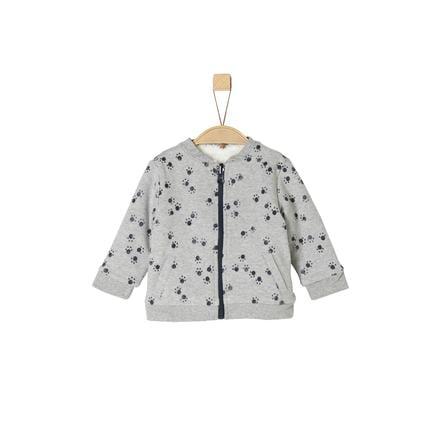 s.Oliver Boys chaqueta reversible gris claro mélange