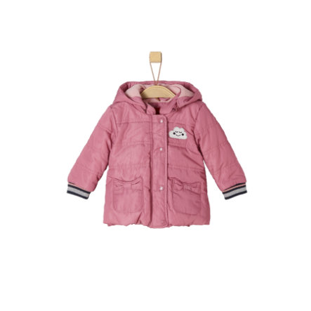 s.Oliver Girls Jacke dark pink