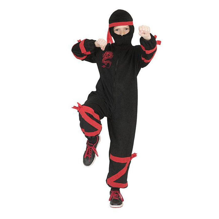 Funny Fashion Carnaval kostuum Ninja Tum Tum Tum Tum