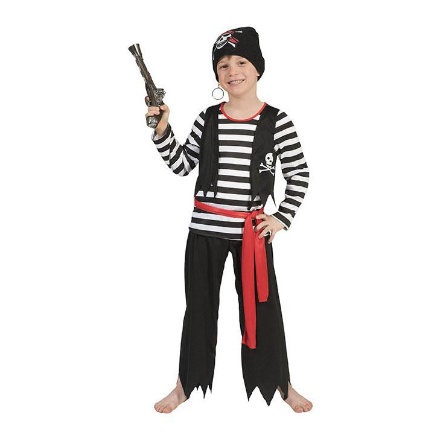 Funny Fashion Costume de carnaval garçon pirate Pat