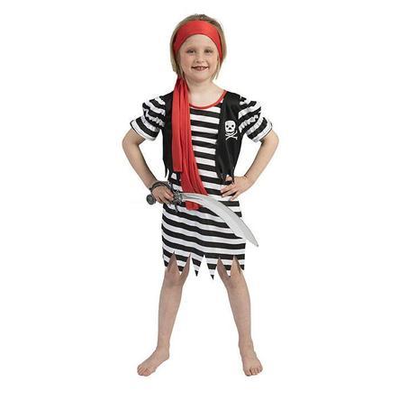 Funny Fashion Karneval Kostüm Piratin Pat