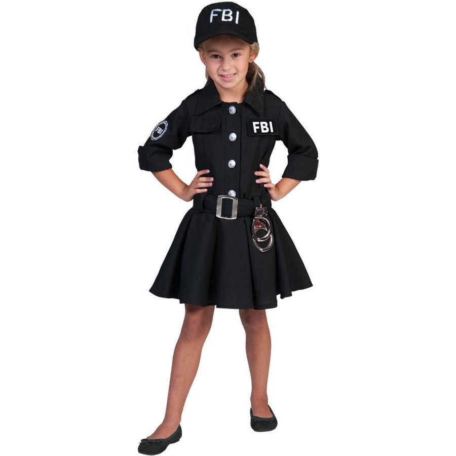 Funny Fashion Karneval FBI Agentin