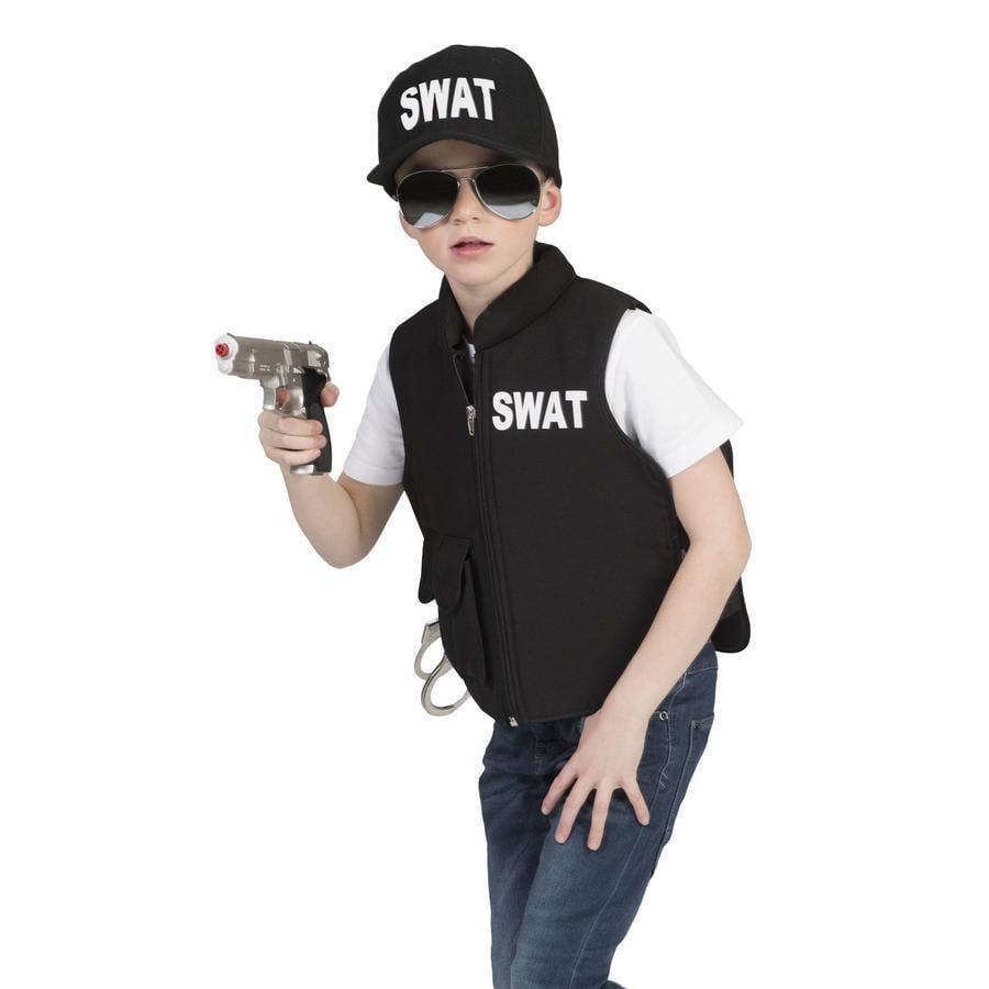 Funny Fashion Karneval Swat Weste
