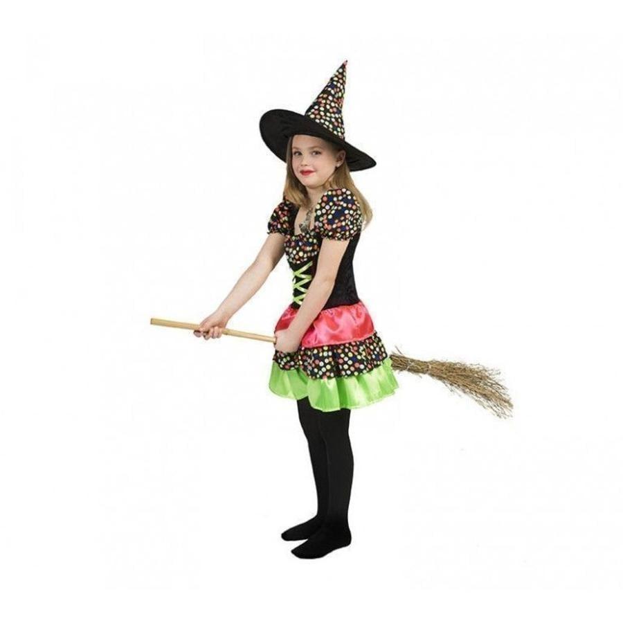FUNNY FASHION Costume enfant Wendy la sorcière