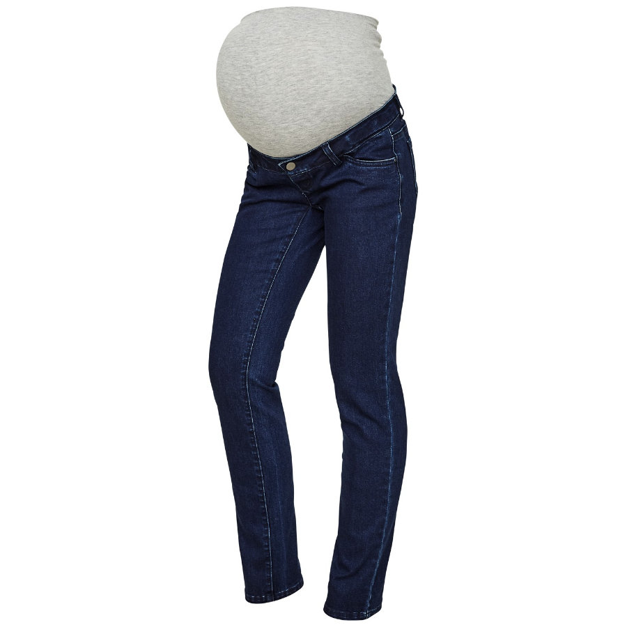 mama;licious Jeans premaman MLLOLA Denim blu scuro