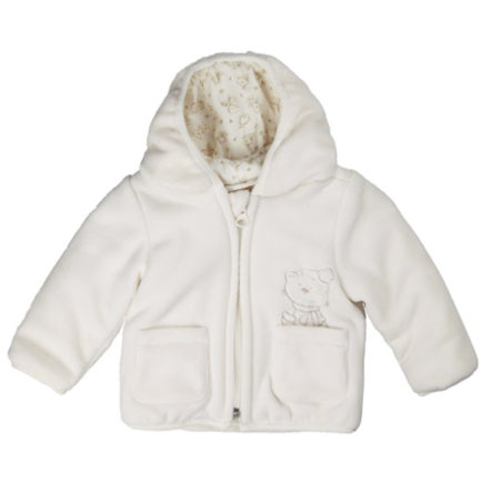 KANZ Giacca bebé in pile bianco neve