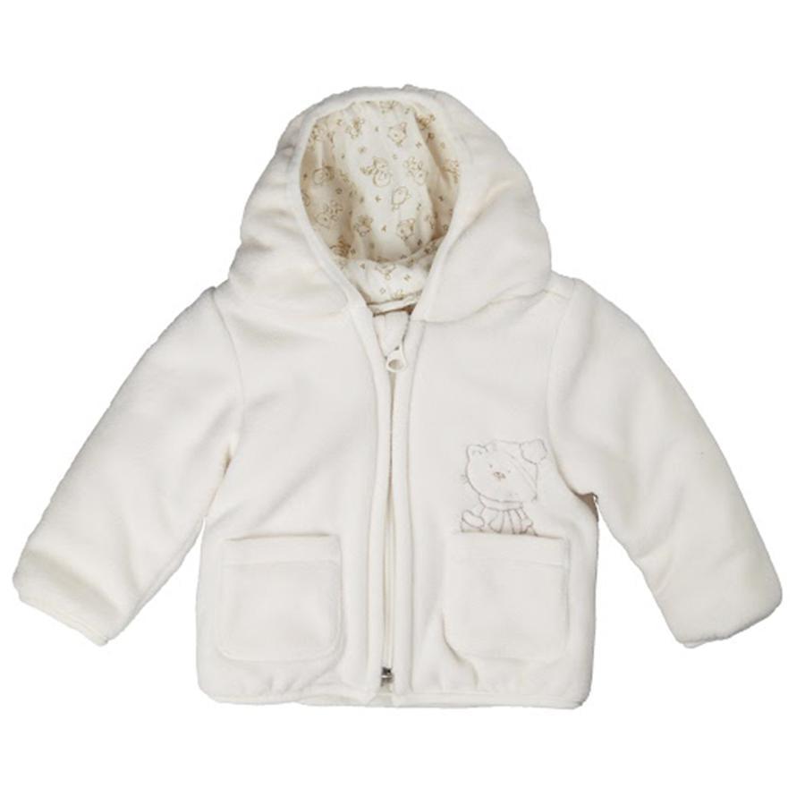 KANZ Veste polaire bébé, snow white