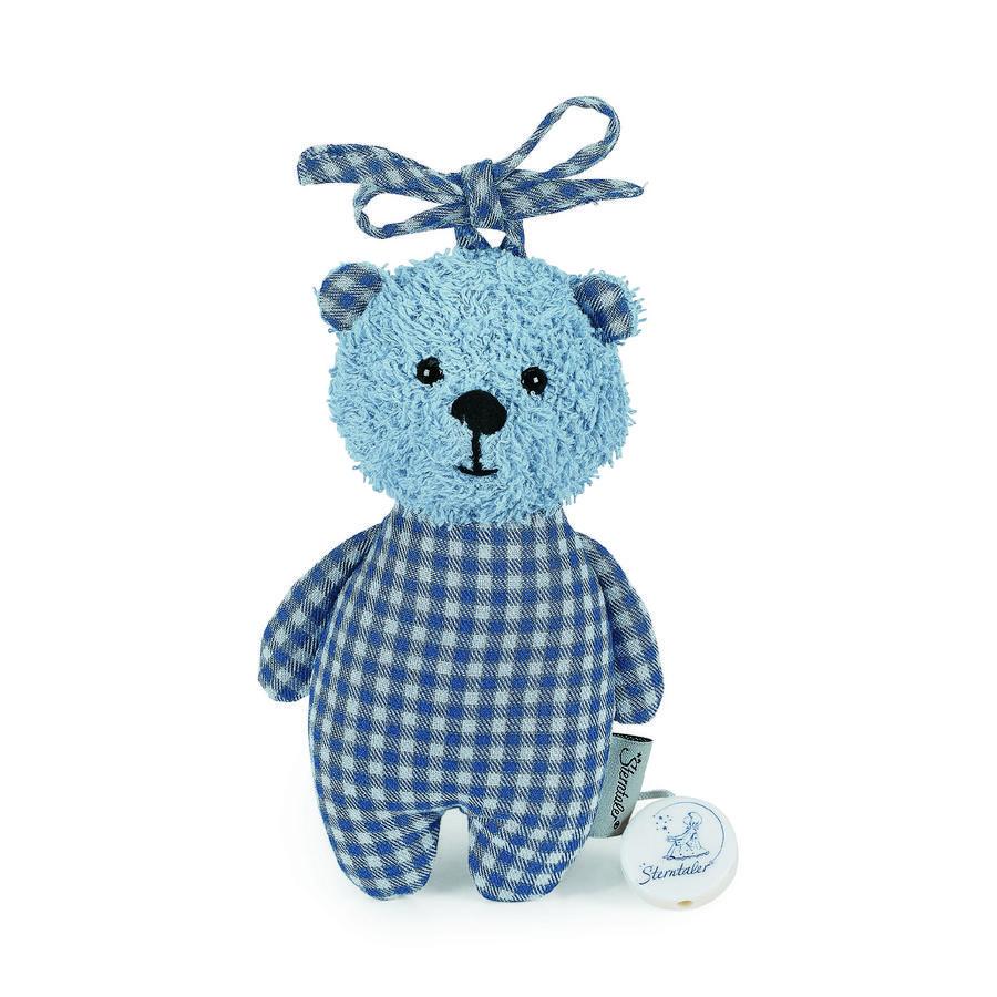 Sterntaler Hrací medvídek S Baylee modrý
