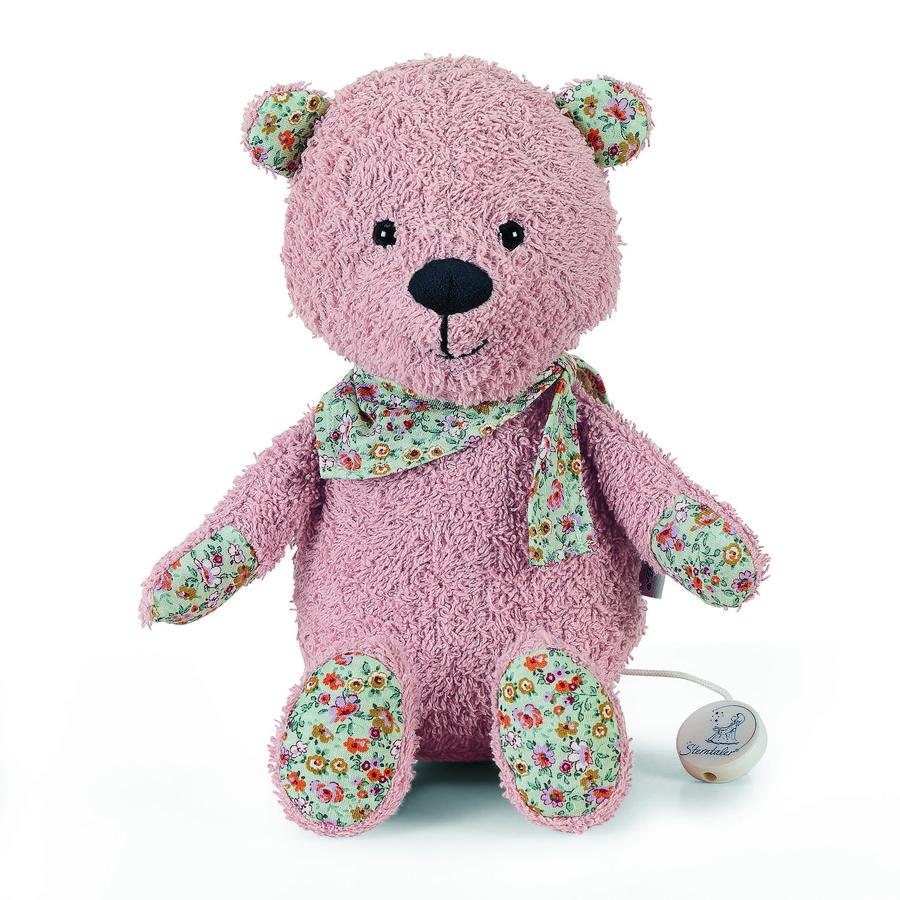 Sterntaler Hrací medvídek L Baylee růžový