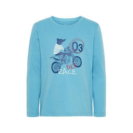 name it Boys Camisa de manga larga Nmmvagno delphinium azul