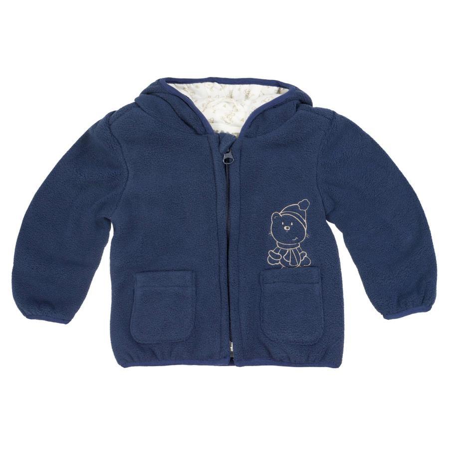 KANZ Chaqueta polar para bebé, azul marino