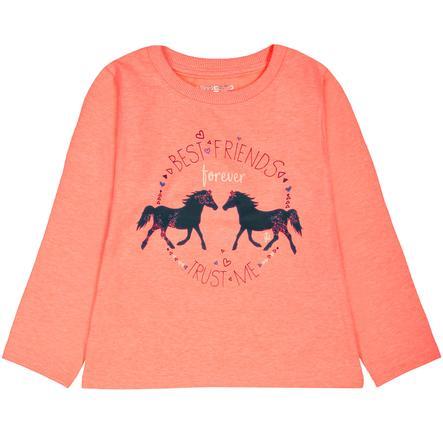 STACCATO Girls Sweatshirt neon coral