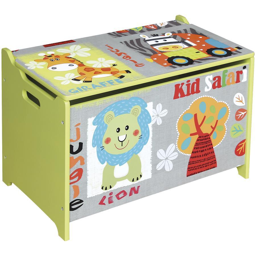 Bieco Safari Truhe für Spielzeug -