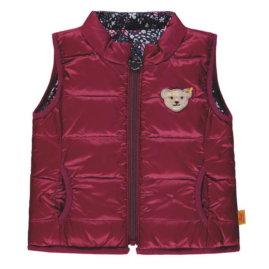 Steiff Girls vest reversibel