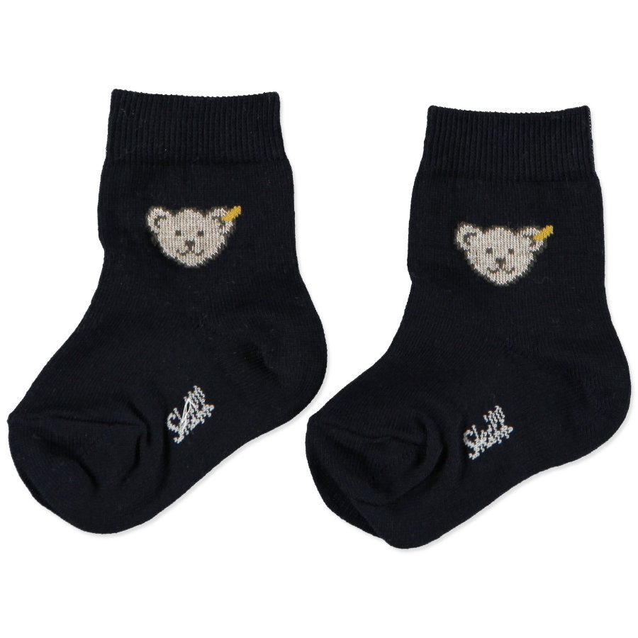 STEIFF Baby Socks Teddy navy