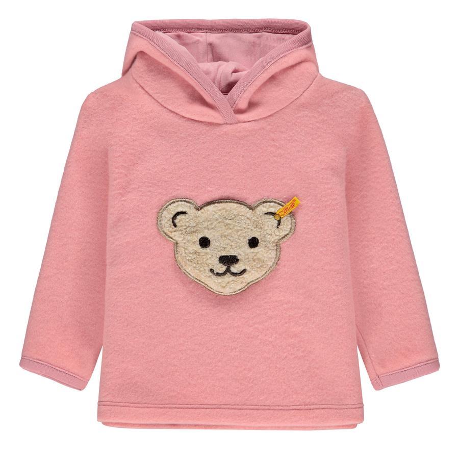 Steiff Girl s Sweatshirt Fleece, rose