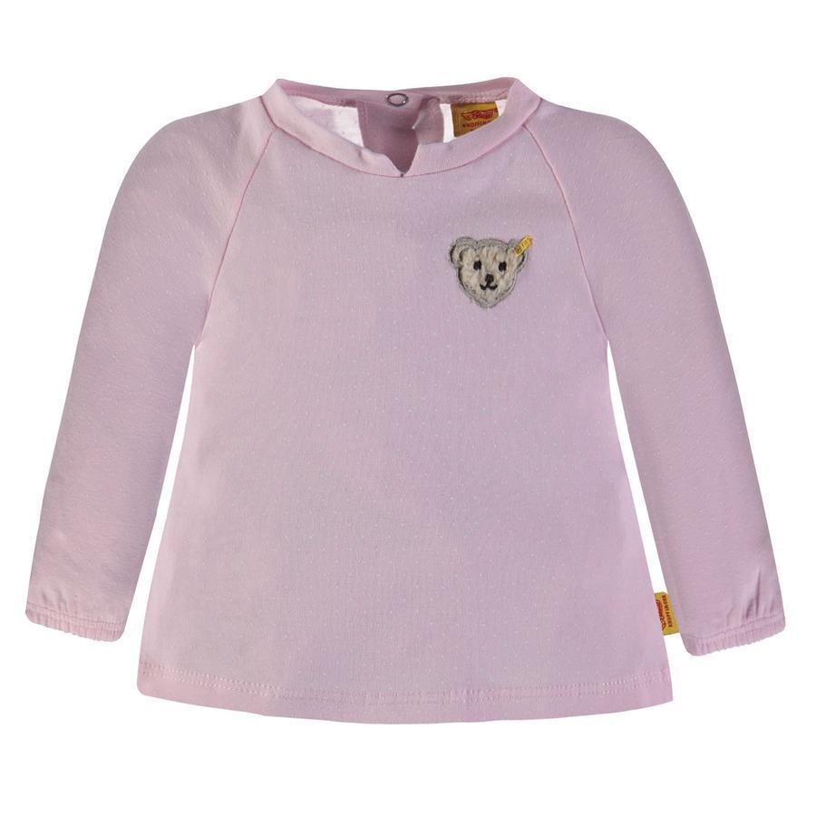 Steiff Girl s Camisa de manga larga, rosa