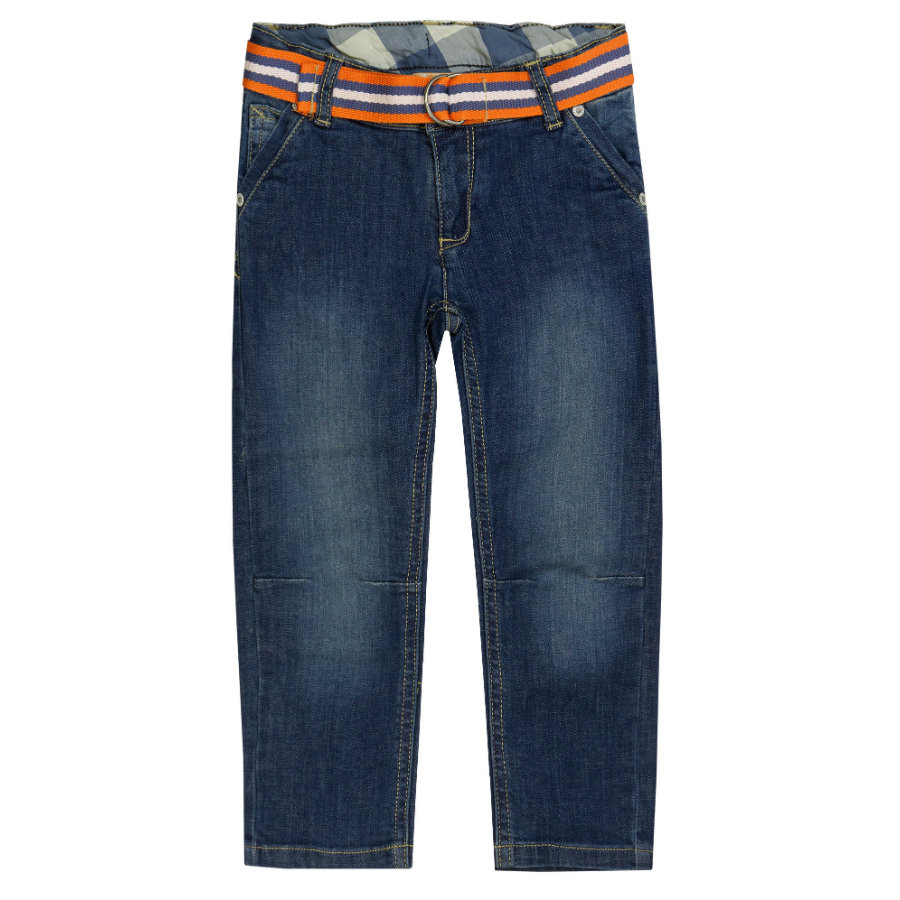 Steiff Boys Pantalon Jean en denim bleu lavé
