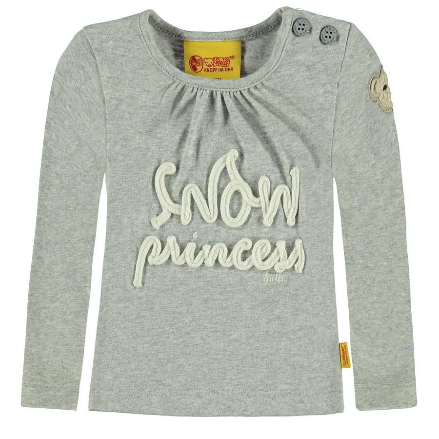 Steiff Girl s Overhemd met lange mouwen, grijs