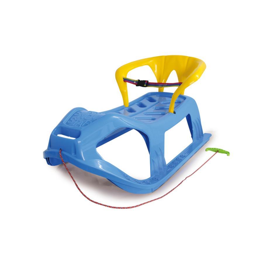 JAMARA Snow Play sáňky s opěradlem Snow-Star 90 cm modré