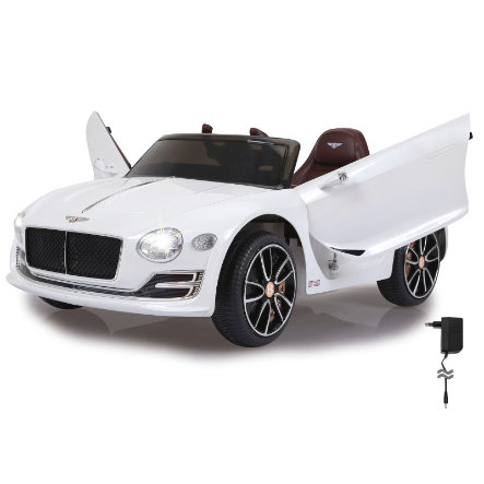 JAMARA Voiture électrique enfant Ride-on Bentley EXP12 blanc 12 V