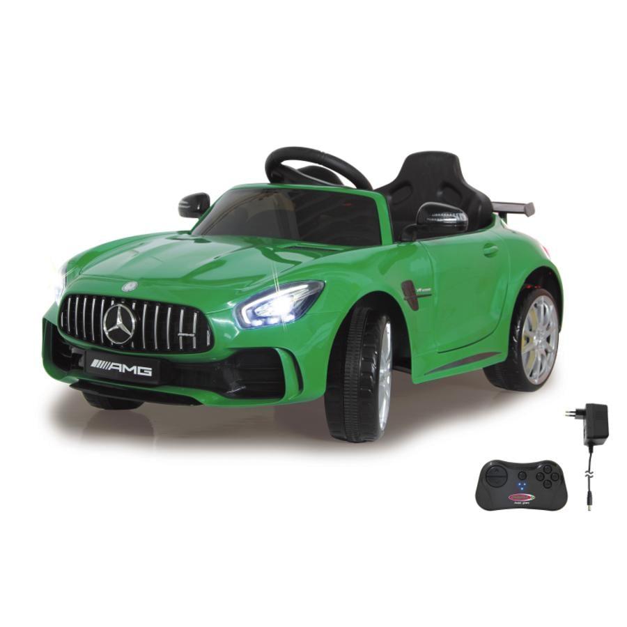 JAMARA Elbil Ride-on Mercedes-Benz AMG GT R, grön