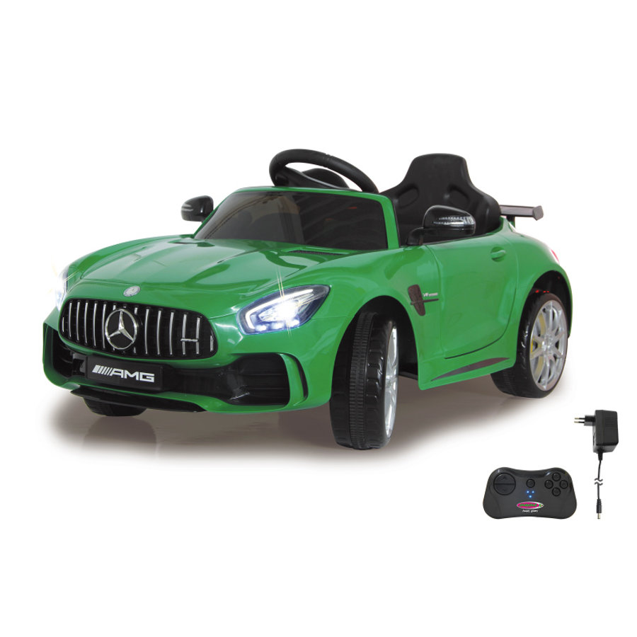 JAMARA Voiture électrique enfant Mercedes-Benz AMG GT R vert 12V