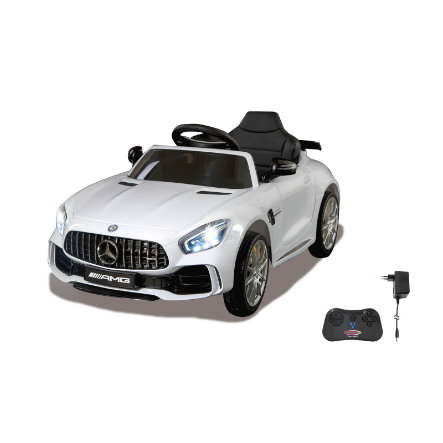 Mercedes Benz Amg Gt >> Jamara Sahkoauto Ride On Mercedes Benz Amg Gt R 2 4 G 12 V Valkoinen