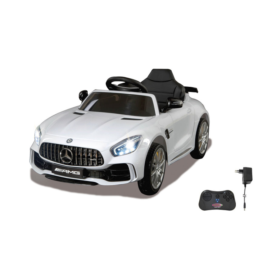 JAMARA Ride-on Mercedes -Benz AMG GT R bianco 2,4G 12V 2,4G bianco