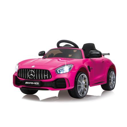 JAMARA Ride-on Coche teledirigido Mercedes-Benz AMG GT R rosa 2,4G 12V