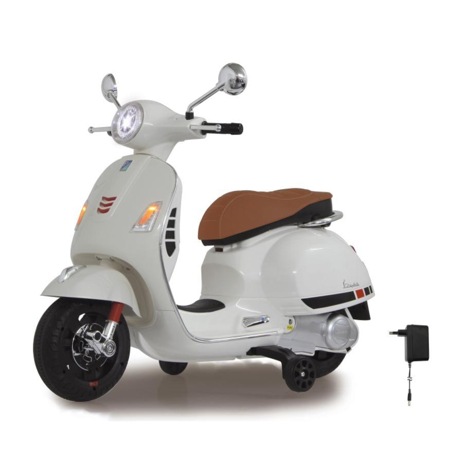 JAMARA Lasten sähkömopo Ride-on Vespa 12 V valkoinen