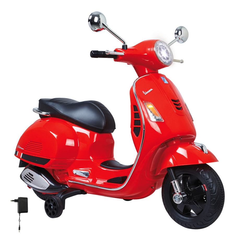 JAMARA Ride-on Vespa rojo 12V