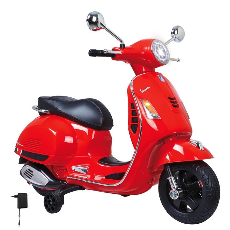 JAMARA Ride-on Vespa rosso 12V