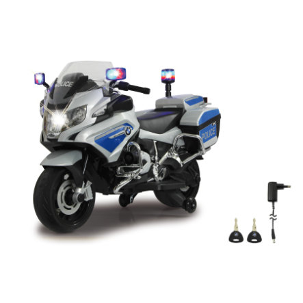 JAMARA Ride-on Motocicletta BMW R1200 RT polizia 12V