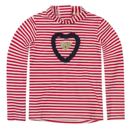 Steiff Girls UV-Schutz-Shirt tango red