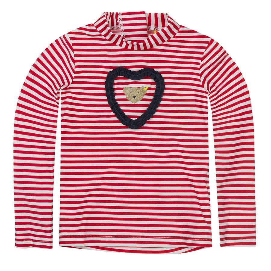 Steiff Girl s UV-bescherming shirt tango rood