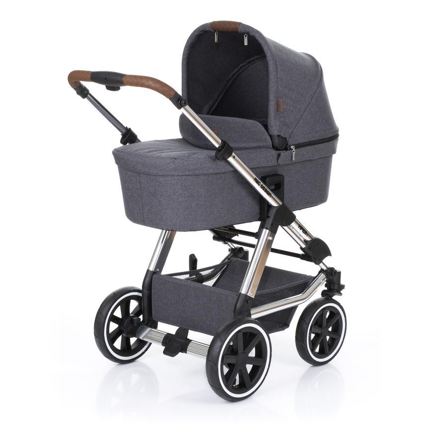 ABC DESIGN Cochecito combinable Viper 4 T incl. asiento deportivo y capazo Diamond Special Edition asfalto
