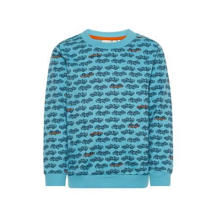 name it Boys Sweatshirt Nmmolsonas delphinium blue