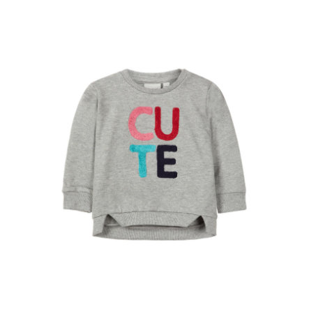 name it Girls Sweatshirt Nbfommi grey melange