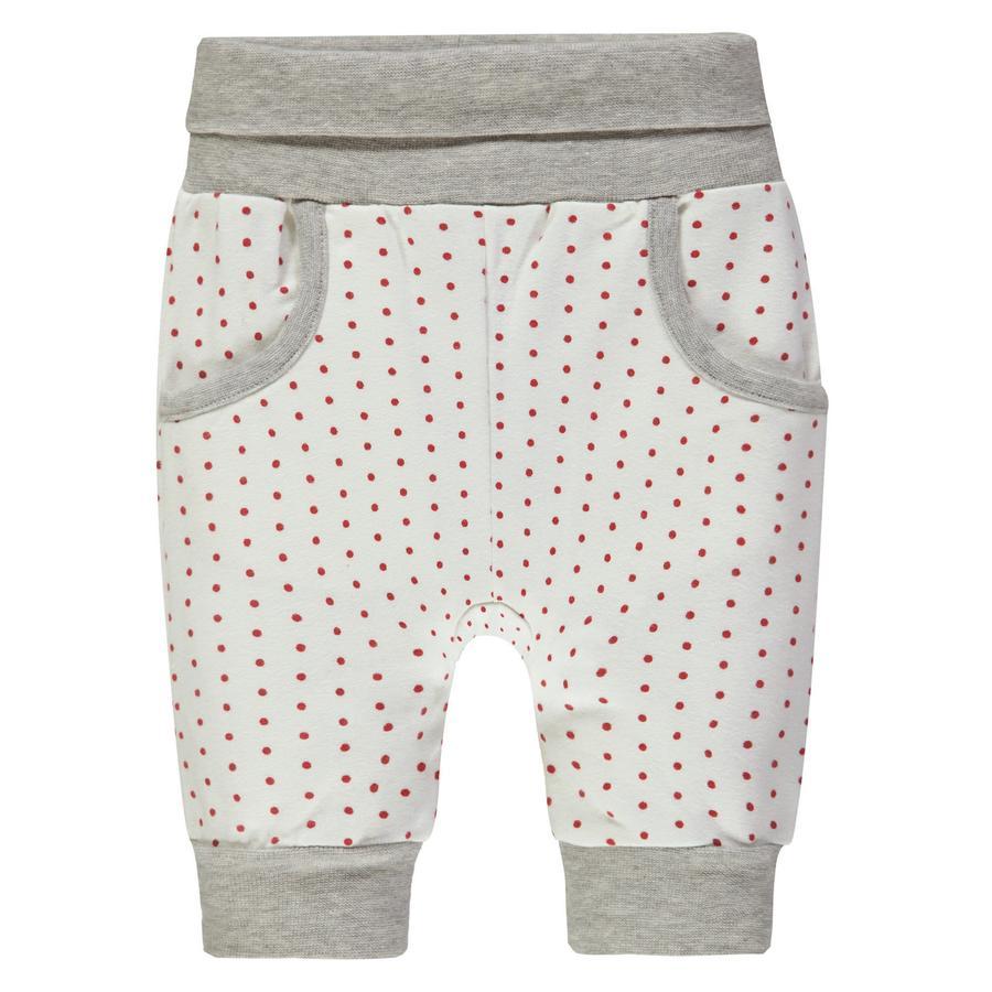 Steiff Girl s pantalones de jogging, blanco punteado