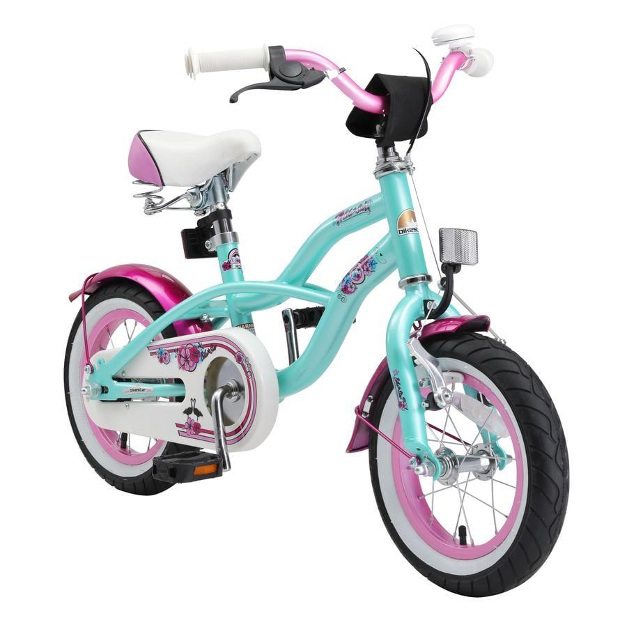 """bikestar Premium Sicherheits Kinderfahrrad 12"""" Cruiser Mint"""