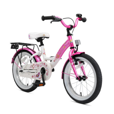 """star Trademarks BIKESTAR® Premium Fiets 16"""" Pink Wit"""