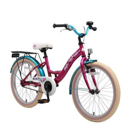 "BIKESTAR® Premium Bici per bambini 20"" Berry Turchese"