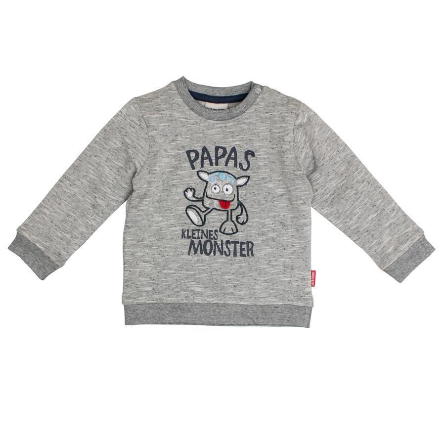 SALT AND PEPPER Boys Sweatshirt Monster gris mélangé