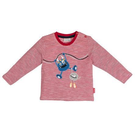 SALT AND PEPPER Boys Camicia manica lunga Monster stripe rosso