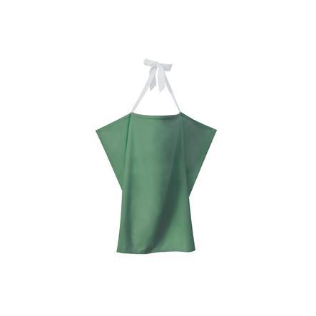 ZELLMOPS Grembiule biologico da allattamento large 86x86, verde menta