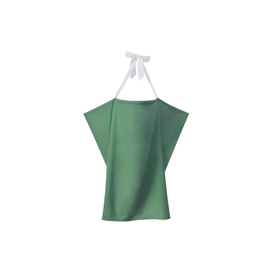 ZELLMOPS Bio Pañuelo de lactancia Verde menta tamaño (86x61), verde menta